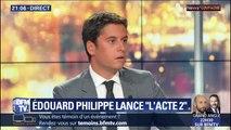 """Gabriel Attal voit l'abstention des 22 députés Les Républicains comme """"un signe positif"""""""