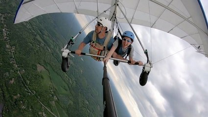 Exhilarating Hang Gliding Experience