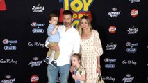 """Jimmy Kimmel and Molly McNearney """"Toy Story 4"""" World Premiere Red Carpet"""