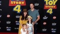 "Tiffani Thiessen and Brady Smith ""Toy Story 4"" World Premiere Red Carpet"