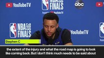 (Subtitled) 'No problem with motivation' Curry ahead of Game 6