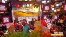 Kelly Vedovelli fait une chute qui enflamme les réseaux sociaux dans TPMP - Regardez