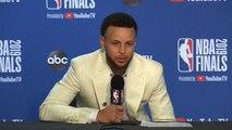 Stephen Curry Postgame Interview - Game 6 - Raptors vs Warriors - 2019 NBA Finals