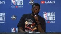 Draymond Green Postgame Interview - Game 6 - Raptors vs Warriors - 2019 NBA Finals
