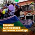 Ecuador Top Court Paves Way for Legal Same-Sex Marriage