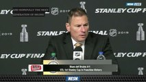 Bruce Cassidy 'Proud' Of Bruins Despite Stanley Cup Defeat