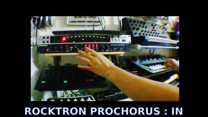 ROCKTRON PROCHORUS : test with KORG minilogue and MS-20 mini