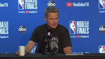 Steve Kerr Full Interview - Game 6 Preview - 2019 NBA Finals Media Availability