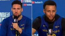 Stephen Curry - Klay Thompson Full Interview - Game 6 Preview - 2019 NBA Finals Media Availability