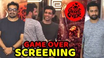 Game Over Movie Special Screening _ Vicky Kaushal, Anurag Kashyap, Gulshan Devai