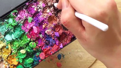 Slime Coloring with Makeup Compilation ! Most Satisfying Slime ASMR Videos #12