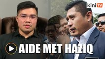 Azmin's political secretary admits to meeting Haziq before 'confession'