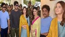 Alia Bhatt, Ranbir Kapoor, Mouni Roy & Nagarjuna promote Brahmastra   Filmibeat