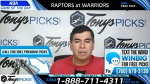 Toronto Raptors vs Golden State Warriors 6/13/2019 Picks Predictions Previews