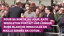 PHOTOS. Kate Middleton époustouflante dans une robe immaculée col bardot lors d'un gala de charité