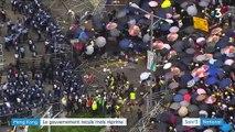 Hong Kong : la violence monte d'un cran entre les autorités et la population
