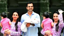 Esha Deol & Bharat Takhtani take baby Miraya home; Watch video | Boldsky
