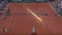Rafael Nadal - Top Incredible Inside Out Forehand - Bomb Forehand