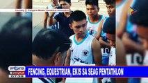 Fencing, equestrian, ekis sa SEAG pentathlon