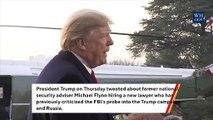 Trump: 'War Hero' Flynn Hired A 'Great Lawyer' Sidney Powell