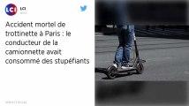 Accident mortel de trottinette à Paris. Le conducteur du camion présenté à la justice