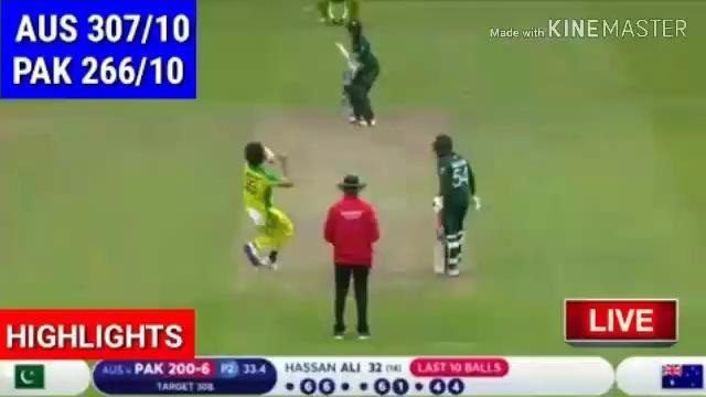Pakistan vs Australia world cup Highlights 2019 | Pak vs Aus highlights