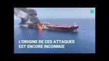 Deux pétroliers évacués en mer d'Oman après une attaque présumée