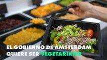 El Ayuntamiento de Ámsterdam quiere ser vegetariano