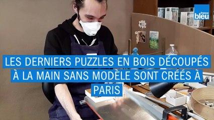 Les Puzzles Michèle Wilson : derniers découpés à la main sans modèle