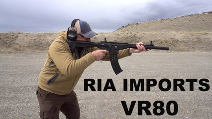 ON THE GUN: RIA Imports VR80