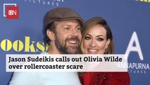 Jason Sudeikis And Olivia Wilde Share A Terrifying Moment
