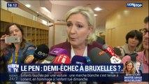 """Marine Le Pen assure que son groupe """"Identité et démocratie"""" est """"la première force souverainiste"""" du Parlement européen"""