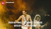 Brian May Pays His Dues To Freddie Mercury