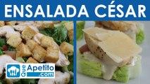 Receta de ensalada césar fácil y casera | QueApetito