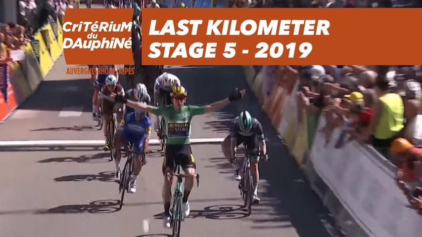 Last Kilometer / Dernier kilomètre - Étape 5 / Stage 5 - Critérium du Dauphiné 2019