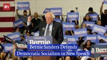 Bernie Sanders Openly Advocates For Democratic Socialism