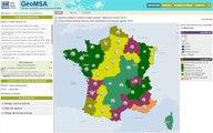 Découvrir GéoMSA, le site de cartographie pour visualiser les données MSA