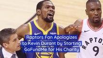 Raptors Fan Is Really Sorry