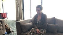 Sandrine Bonnaire répond aux questions de Ouest-France