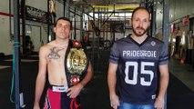Une ceinture pour le MMA fighting Colmar