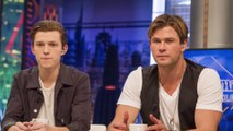 Chris Hemsworth 'made a call' to land Tom Holland Spider-Man role