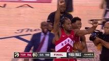 Final Seconds of 2019 NBA Finals Game 6 - Toronto Celebration - Raptors vs Warriors
