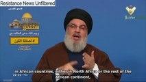 Nasrallah: Resistance Axis, Arab & Muslim Peoples will Never Forsake Palestine