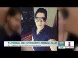 Realizan funeral de Norberto Ronquillo en el Pedregal | Noticias con Francisco Zea