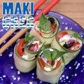 Makis façon salade grecque