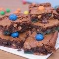 Brownie M&M's