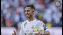 """Eden Hazard au Real : toutes les images de sa présentation """"galactique"""" à Madrid"""