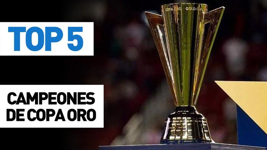 Top 5 Campeones de Copa Oro