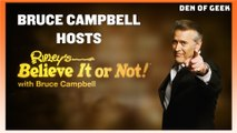 Ripley's Believe It or Not!   Sit Down Interview With Bruce Campbell