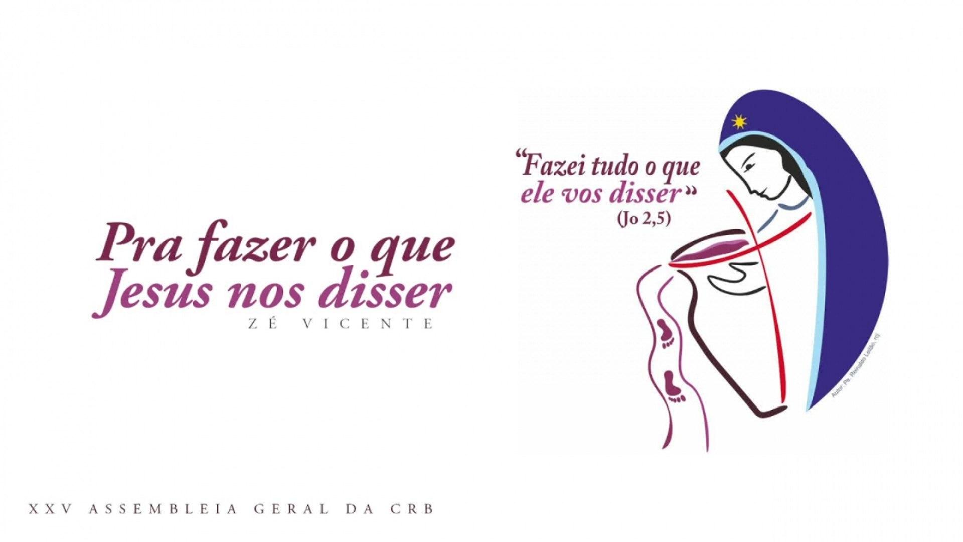 Zé Vicente - Pra fazer o que Jesus nos disser - (Hino AGE CRB 2019 - Playback)